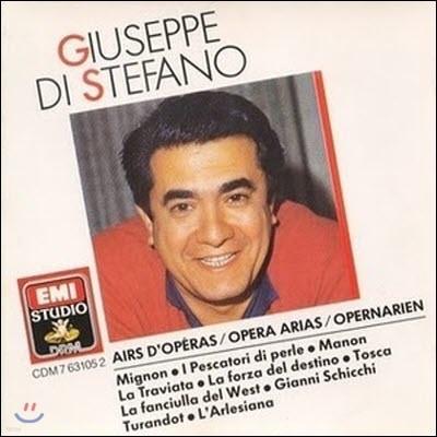 [중고] Giuseppe Di Stefano (주세페 디 스테파노) / Opera Arias (오페라 아리아 모음/ekcd02123/cdm7631052)
