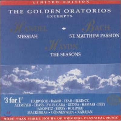 [중고] V.A. / The Golden Oratorios - Excerpts - Golden Edition 9 (3CD/ekcd0209)