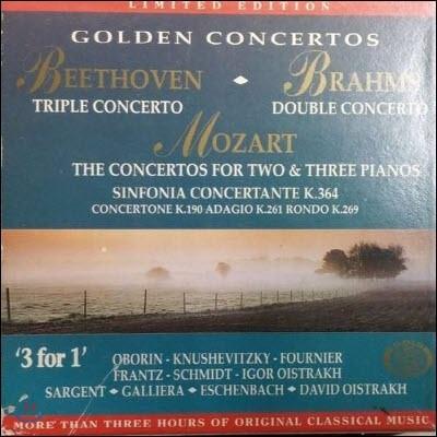 [중고] V.A. / Golden Concertos - Golden Edition 1 (3CD/ekcd0201)