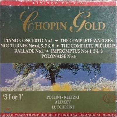 [중고] V.A. / Chopin Gold - Gold Edition 6 (3CD/ekcd0206)