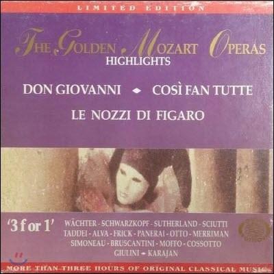 [중고] V.A. / The Golden Mozart Operas - Gold Edition 11 (3CD/ekcd0211)
