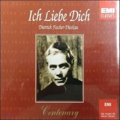 [중고] Dietrich Fischer-Dieskau / Ich Liebe Dich (2CD/cec2d0002)