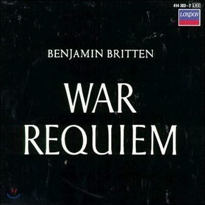 [중고] Benjamin Britten / War Requiem (2CD/dd2114/4143832)