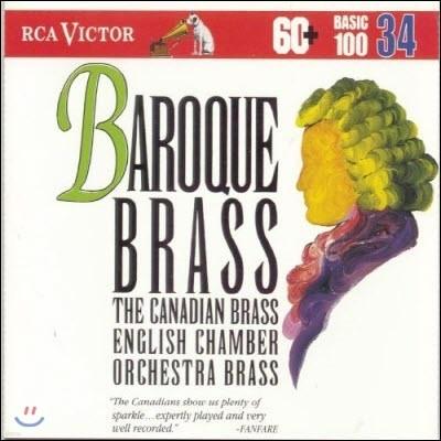 [중고] Canadian Brass English chamber Orchestra Brass / Baroque Brass (bmgcd9834)