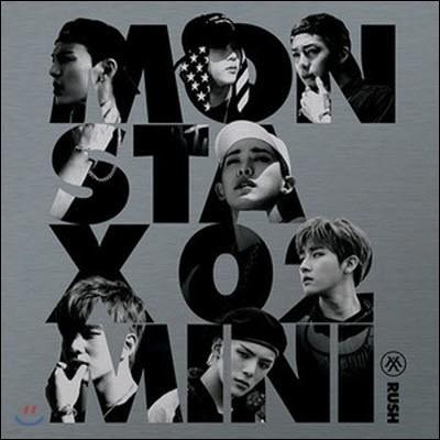 몬스타엑스 (Monsta X) / Rush (2nd Mini Album) (Official Version/미개봉)