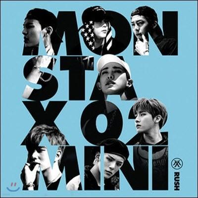 몬스타엑스 (Monsta X) / Rush (2nd Mini Album) (Secret Version/미개봉)