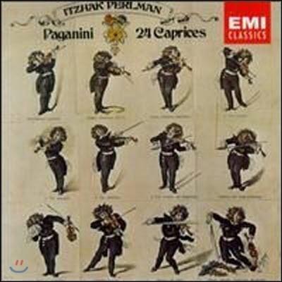 [중고] Itzhak Perlman / Paganini : 24 Caprices (수입/cdc7471712)