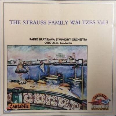[중고] Otto Aebi / The Strauss Family Waltzes Vol.3 (sxcd5076)