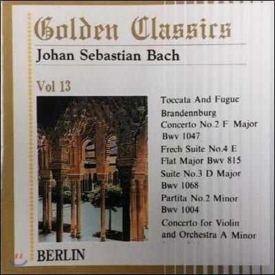 [중고] V.A. / Golden Classics Vol.13 - Bach : Toccata And Fugue etc. (수입/art513)