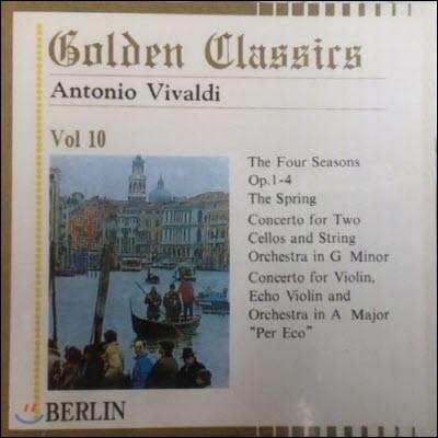 Conrad Von Der Goltz / Golden Classics Vol.10 - Vivaldi : The Four Seasons Op.1-4 etc. (수입/미개봉/art510)