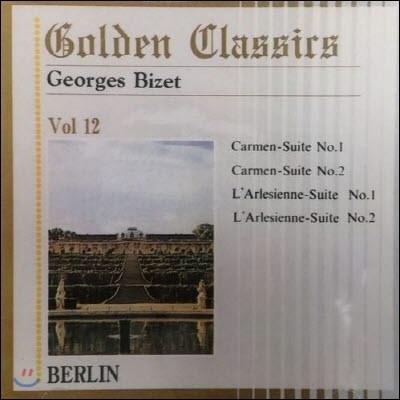 Loic Bertrand, Alfred Scholz / Golden Classics Vol.12 - Bizet : Carmen-Suites, L'Arlesienne-Suites (수입/미개봉/art512)