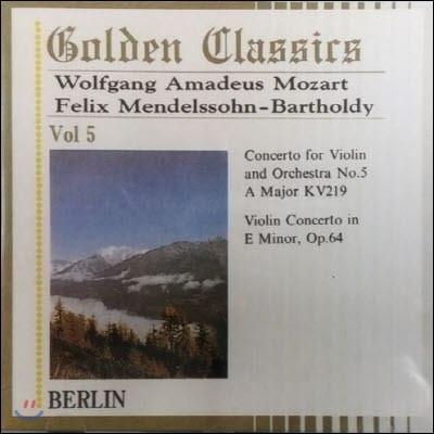 [중고] Hanspeter Gmur, Wilhelm Kienzl, Alberto Lizzio, Helena Spitcova / Golden Classics Vol.5 - Mozart : Concertos (수입/미개봉/art505)