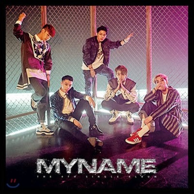 [중고] 마이네임 (My Name) / Myname (4th Single Album/싸인)