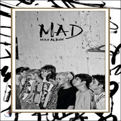 갓세븐 (Got7) / Mad (Mini Album) (Vertical Ver/미개봉)