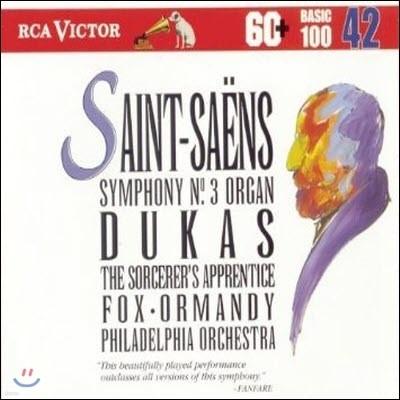 [중고] Saint-Saëns: Symphony No. 3- Organ / Dukas: Sorcerer's Apprentice (bmgcd9842)