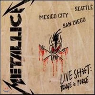 [중고] Metallica - Live Shit: Binge & Purge (3CD/수입)