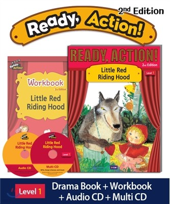 Ready Action Level 1: Little Red Riding Hood (SB+WB+Audio CD+Multi-CD)