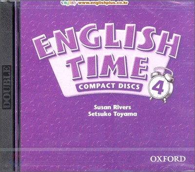 English Time 4 : Audio CD