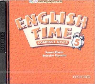 English Time 5 : Audio CD