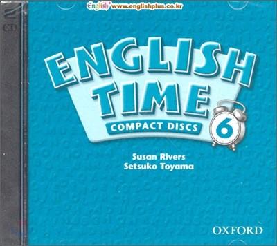 English Time 6 : Audio CD