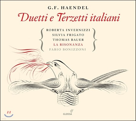 La Risonanza 헨델: 2중창과 3중창 작품집 - 라 리조난차 앙상블 (Handel: Duetti e Terzetti italiani)