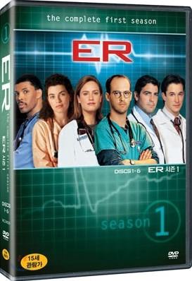E.R 이알 시즌 1 박스 세트 (7disc)