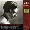 베토벤: 바이올린 협주곡, 브람스: 바이올린 소나타 2번, 비탈리: 샤콘느 (Beethoven: Violin Concerto, Brahms: Violin Sonata No.2, Vitali: Chaconne)(Digipack)(CD) - Gioconda de Vito