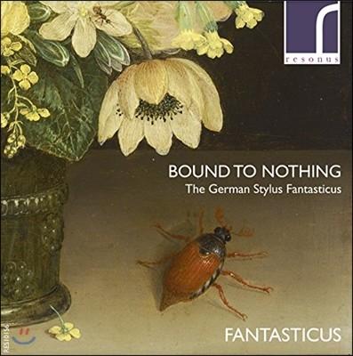 Fantasticus 독일 환상 양식 - 북스테후데 / 에를바흐 / 크리거: 소나타집 (Bound to Nothing - The German Stylus Fantasticus)