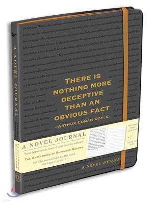 세계 명작 소설 노트 : 셜록 홈즈의 모험 (블랙)