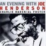 Joe Henderson - An Evening With Joe Henderson
