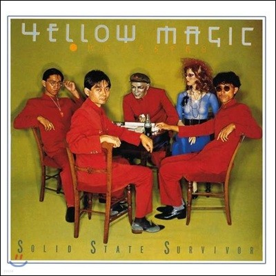 Yellow Magic Orchestra - Solid State Survivor 옐로우 매직 오케스트라 2집 [LP]