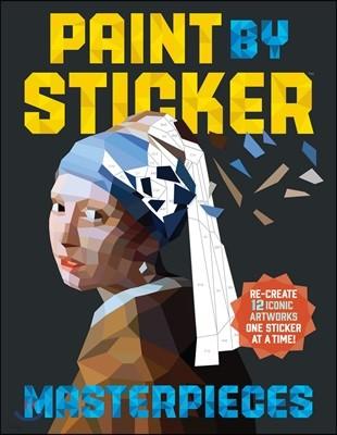 Paint by Sticker : Masterpieces : 스티커로 색칠하기 : 명화편
