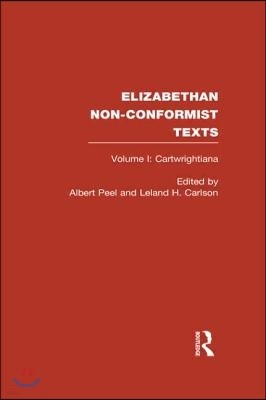 Elizabethan Non-Conformist Texts