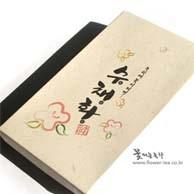 [수채화] 꽃피는 녹차 14호 선물세트