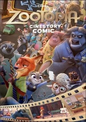 디즈니 시네스토리 코믹 : 주토피아 Disney Zootopia Cinestory