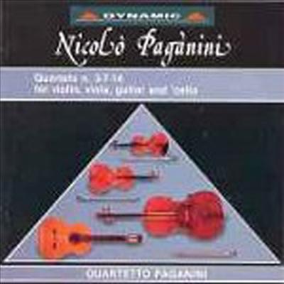 파가니니 : 현악과 기타를 위한 현악 사중주 (Paganini : Guitar & String Quartets No.3, No.7, No.14) - Paganini Quartet