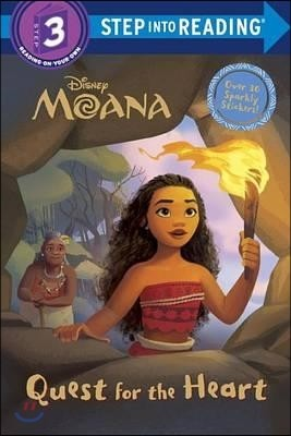 Step into Reading 3 : Disney Moana Quest for the Heart