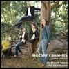 Quatuor Voce 모차르트: 현악 오중주 3번 KV515 / 브람스: 현악 오중주 2번 Op.111 (Mozart / Brahms: String Quintets)