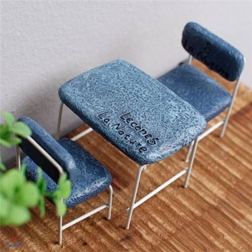 [2HOT] 르송 식탁 의자 미니어쳐 3P
