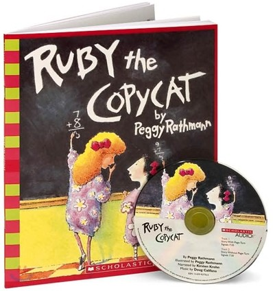 Ruby the Copycat (Book & CD)