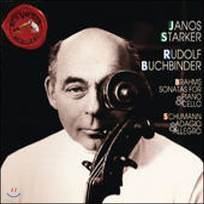 [중고] Janos Starker & Rudolf Buchbinder / Brahms & Schumann: Sonatas for Piano and Cello (수입/09026615622)