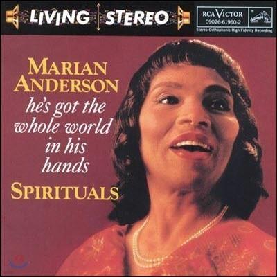 [중고] Marian Anderson / Spirituals (흑인영가 작품집/수입)