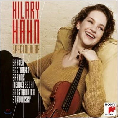 Hilary Hahn / Spectacular (3CD Best Album/미개봉)