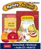 Ready Action Level 1 : Let's Be Friends (SB+WB+Audio CD+Multi-CD)