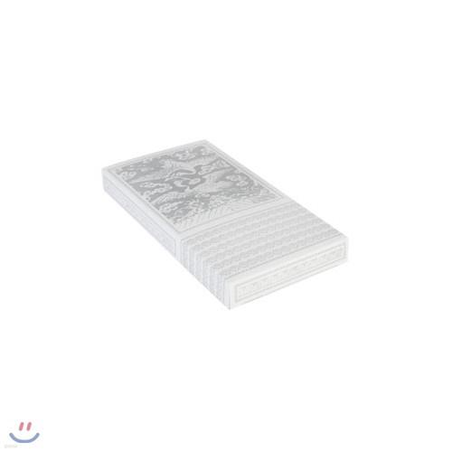 [새롬아트] 은색손수건케이스 50개입