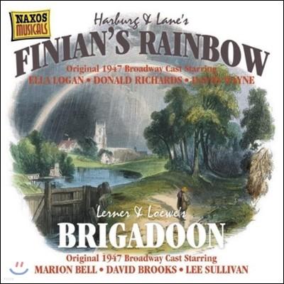 하벅 & 버튼 레인: 뮤지컬 '피니안의 무지개' / 레너 & 로우: '브리가둔' (Harburg & Lane: Finian's Rainbow / Lenner & Loewe: Brigadoon)