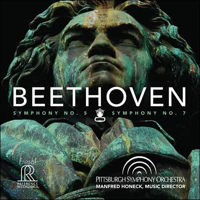Manfred Honeck 베토벤: 교향곡 5번, 7번 - 만프레드 호넥 (Beethoven: Symphonies Op.67, Op.92)