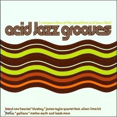[중고] V.A. / Acid Jazz Grooves (수입/3CD)