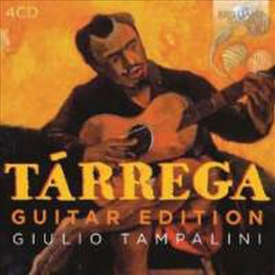 타레가 기타 에디션 (Tarrega Guitar Edition) (4CD) - Giulio Tampalini