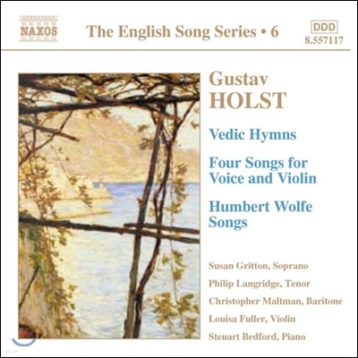 Susan Gritton / Philip Langridge 구스타프 홀스트: 가곡집 (Gustav Holst: Vedic Hymns, Humbert Wolfe Songs, Four Songs for Voice and Violin)